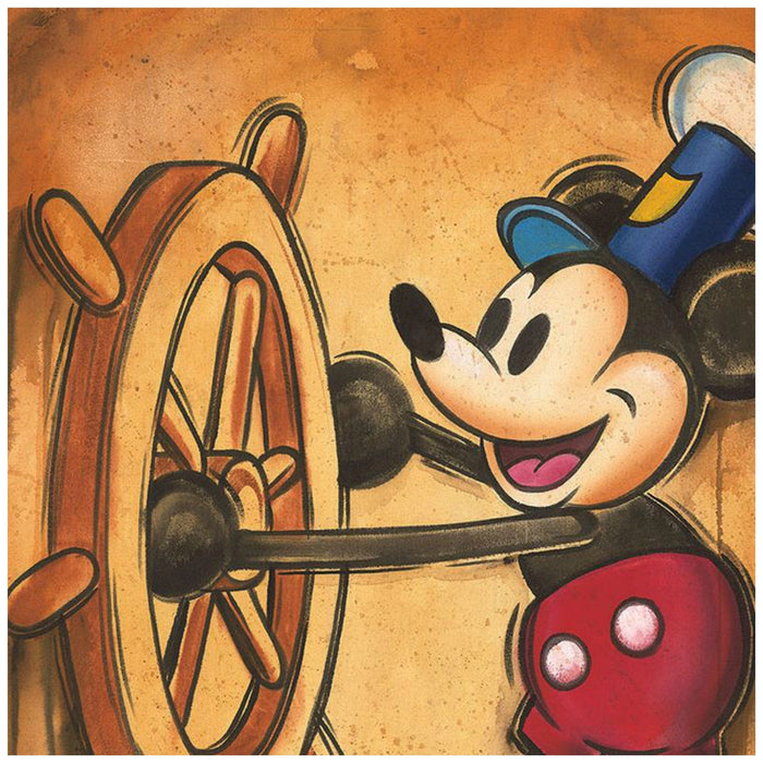 Happy Skipper - Disney Treasures On Canvas