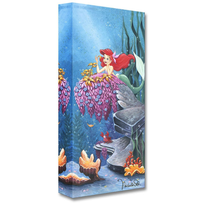 He Loves Me - Disney Treasures On Canvas