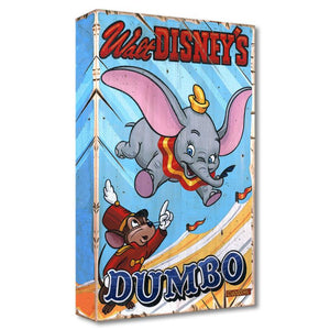 Walt Disney's Dumbo - Tim watches Dumbo fly high inside the big tent.