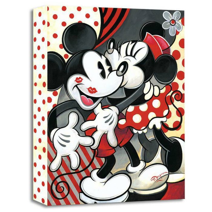 Hugs and Kisses - Disney Treasures On Canvas