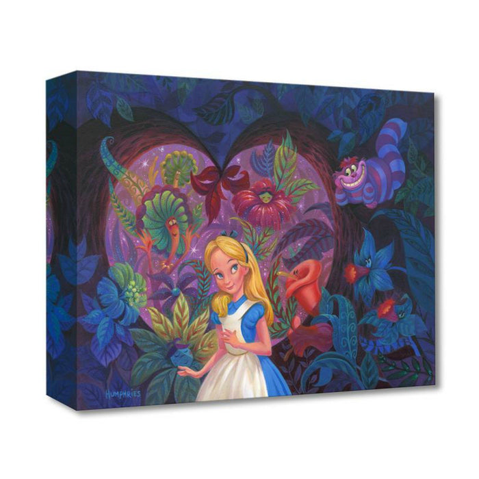 In the Heart of Wonderland - Disney Treasures On Canvas