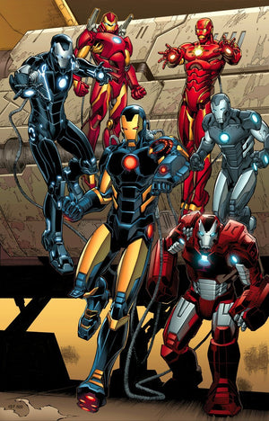 Iron-Man's in several coolest suits!