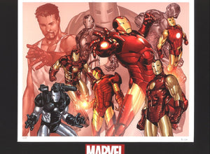"""Iron-Man War Machine - The many faces of  Iron-Man,"