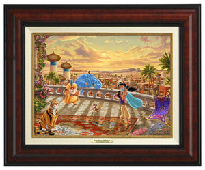 Jasmine Dancing in the Desert Sunset  - Canvas Classics