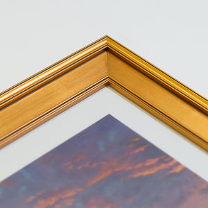 Gallery - Gold Corner Frame Sample