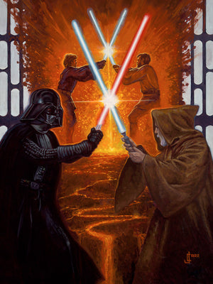 Legacy by Jaime Carrillo  The legacy continues between Darth Vader (Anakin Skywalker) and Obi-Wan Kenobi.
