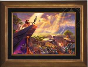 Aurora Gold - Frame Art Sample
