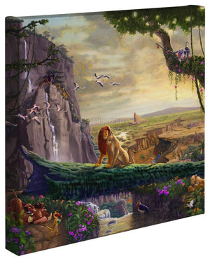 The Lion King Return To Pride Rock - Gallery Wrap Canvas