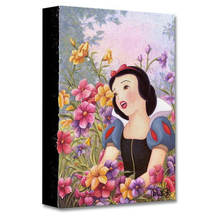 Love In Full Blossom - Disney Treasures On Canvas