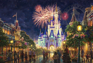 The first fireworks show at the Walt Disney World® Resort was called Fantasy in the Sky Spectacular - unframed
