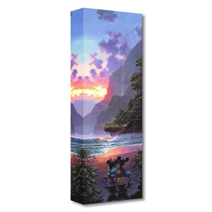 Majestic Island - Disney Treasures On Canvas