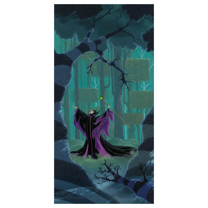 Maleficent Summons the Power by Michael Provenza  Disney's Evil Queen - Maleficent. Inspired by Walt Disney's Movie Film -Sleeping Beauty, a storybook fairy-tale.
