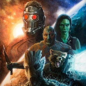 Guardians of the Galaxy - Marvel Art