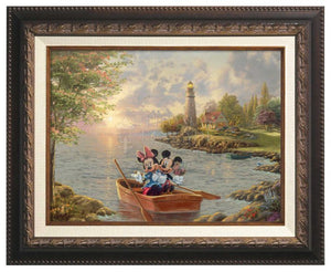 Mickey and Minnie Lighthouse Cove - Canvas Classics