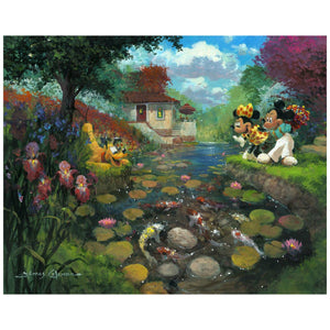 Mickey's Koi Pond - Disney Limited Edition