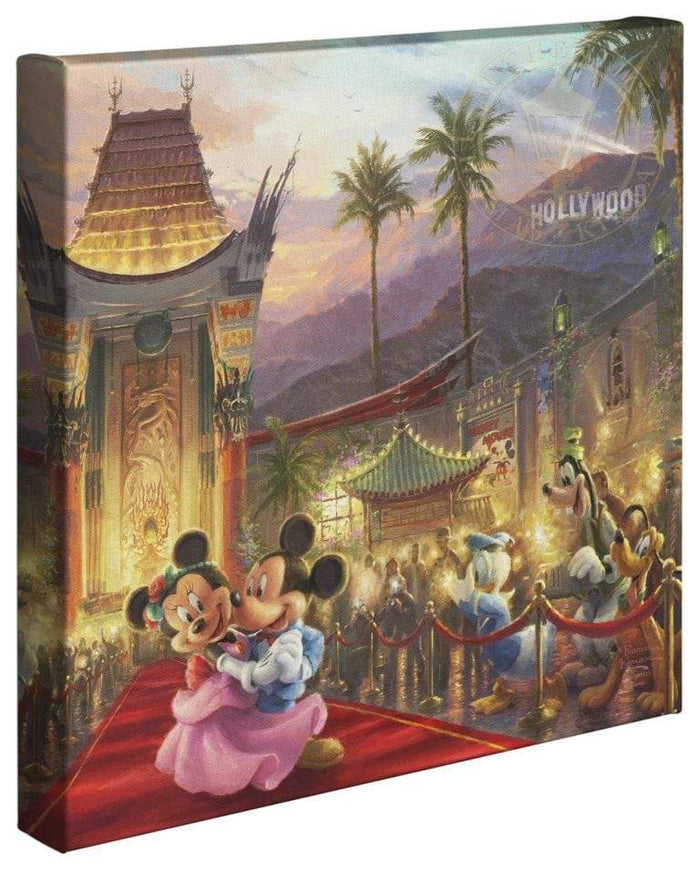 Mickey and Minnie in Hollywood - Gallery Wrap Canvas