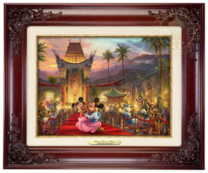 Mickey and Minnie walk the red carpet - Brandy Frame