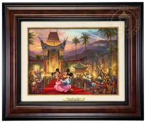 Mickey and Minnie walk the red carpet - Burl Frame