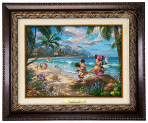 Mickey and Minnie in Hawaii - Canvas Classics
