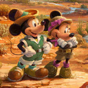 Mickey and Minnie - closeup