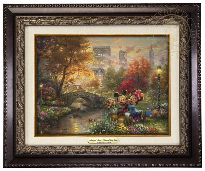 Mickey and Minnie Sweetheart Central Park - Canvas Classics
