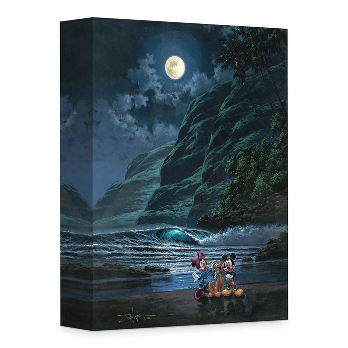 Moonlit Portrait - Disney Treasures On Canvas