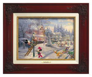 Mickey and all his friends preparing for their favorite time of the year. Brandy Frame