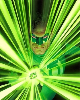 Green Lantern - protector of peace and justice.
