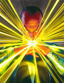 A portrait of Thaal Sinestro of the planet Korugar is an intergalactic super-villain and antagonist.