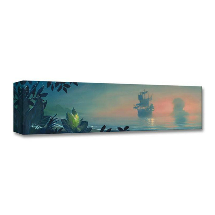 Neverland Lagoon - Disney Treasures On Canvas