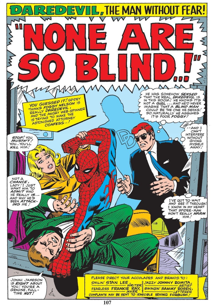 None Are So Blind - Marvel Art