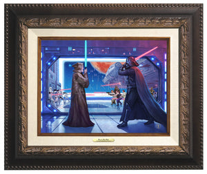 Obi-Wan Final Battle - Canvas Classic - Star Wars Art