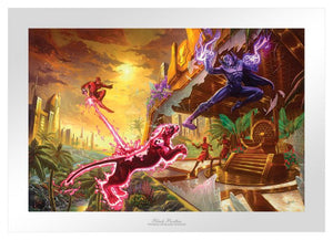 Black Panther II by Thomas Kinkade Studios - Unframed Paper