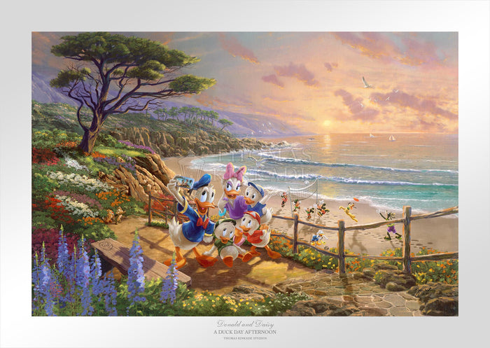 Donald and Daisy - A Duck Day Afternoon - Limited Edition Paper