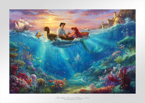 Little Mermaid Falling in Love - Limited Edition Paper