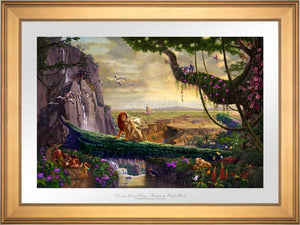 The Lion King Return To Pride Rock - Limited Edition Paper