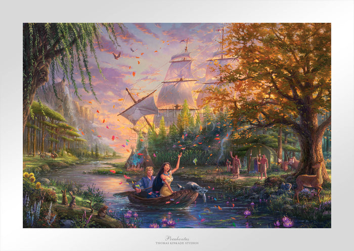 Pocahontas - Limited Edition Paper