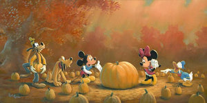 It's Oktoberfest, time to pick the perfect pumpkin for Mickey and friends.
