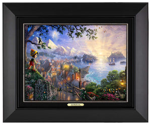 Pinocchio Wishes Upon A Star - Canvas Classics