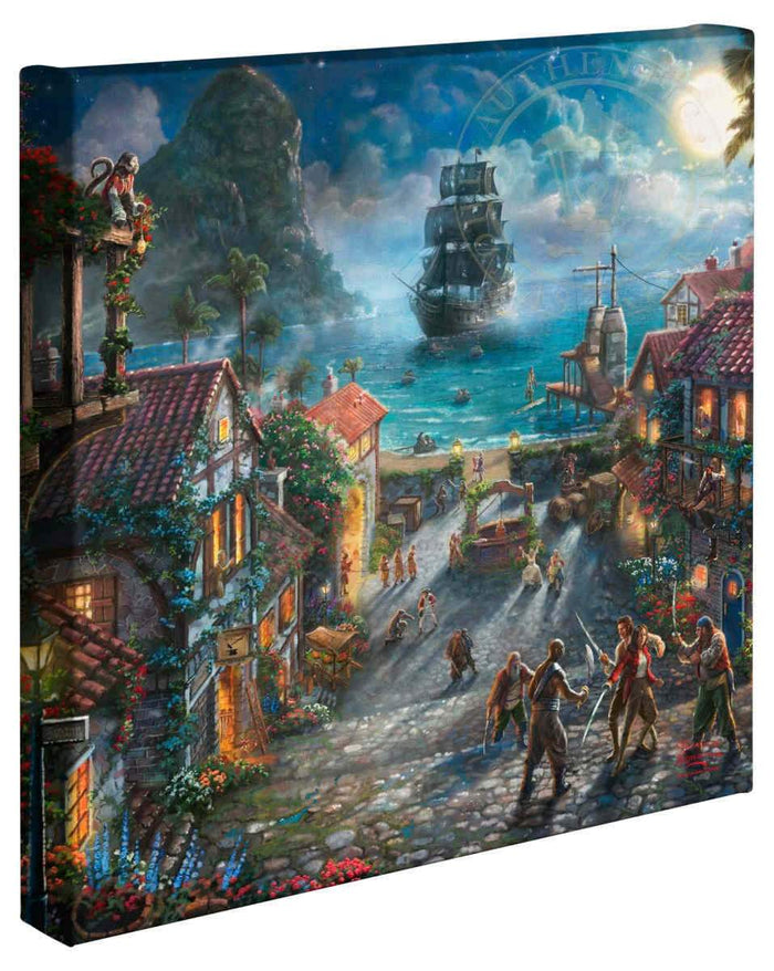 Pirates of the Caribbean - Gallery Wrap Canvas