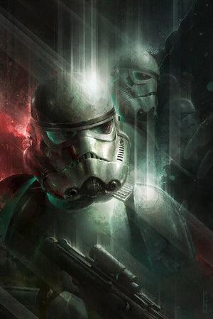 Star Wars Art - Power in Numbers by Raymond Swanland