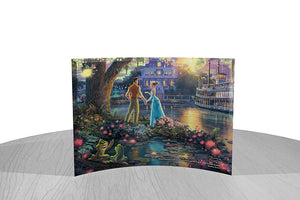 Disney – Princess and the Frog by StarFire Prints™ Curved Glass