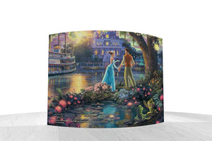 Disney – Princess and the Frog by StarFire Prints™ - Back Curved Glass