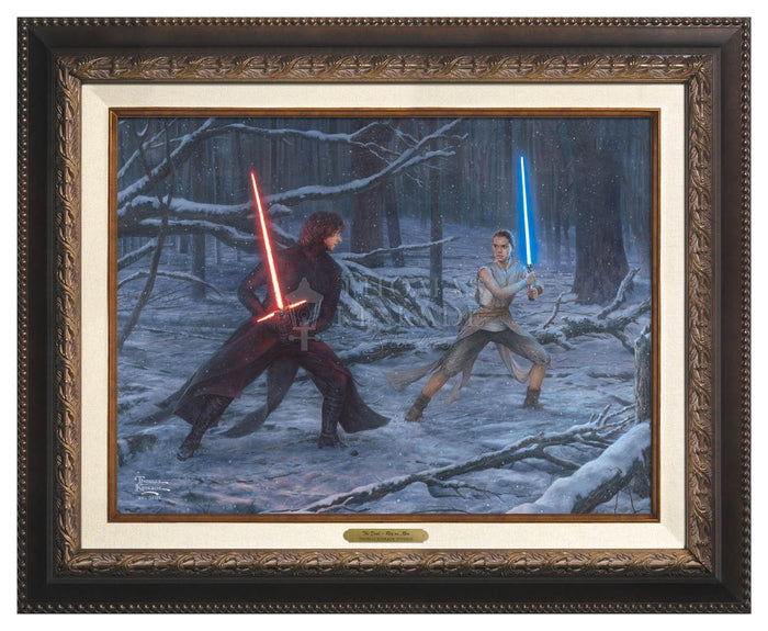 The Duel: Rey vs. Ren - Star Wars Art
