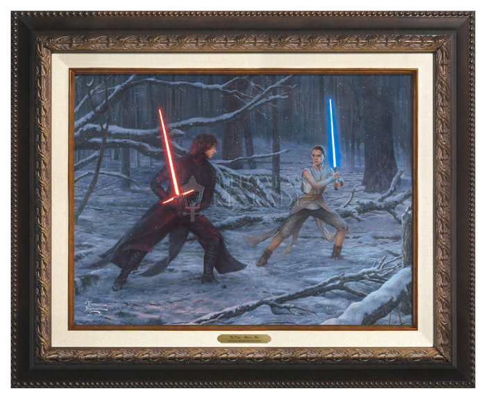 The Battle of Hoth - Canvas Classic - Star Wars Art