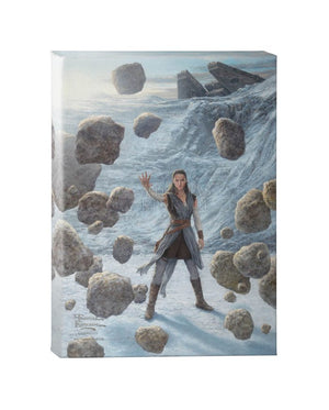 Rey of Hope - Gallery Wrapped Canvas - Star Wars Art