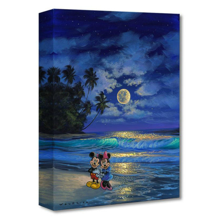 Romance Under the Moonlight - Disney Treasures On Canvas