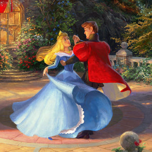 Aurora and the Prince dancing - closeup