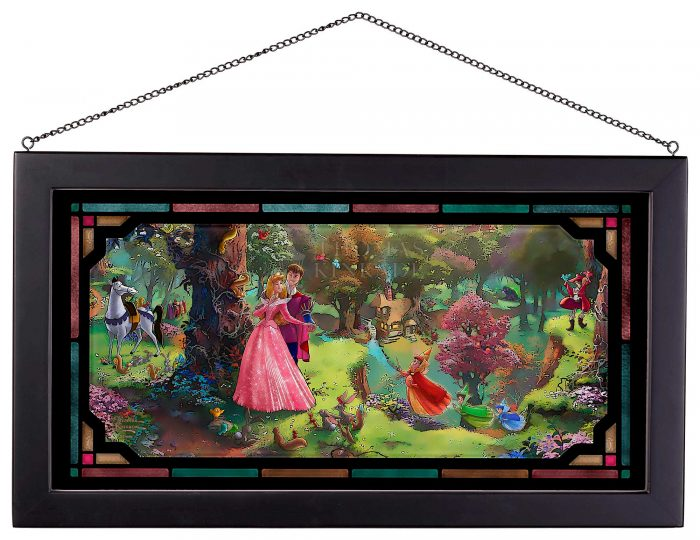Sleeping Beauty - Framed Glass Art