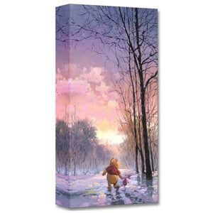 Snowy Path by Rodel Gonzalez  Winnie the Pooh and his friend Piglet take a winter day stroll through a snowy path.